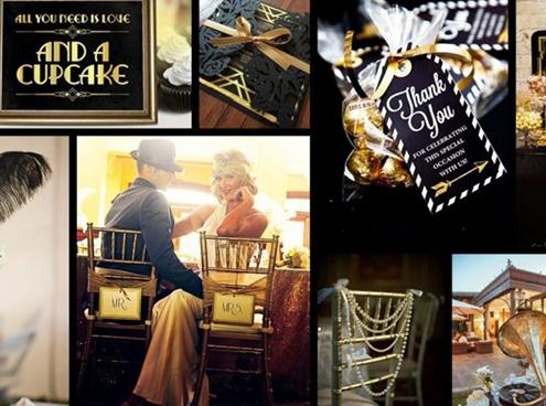 Gatsby esküvő