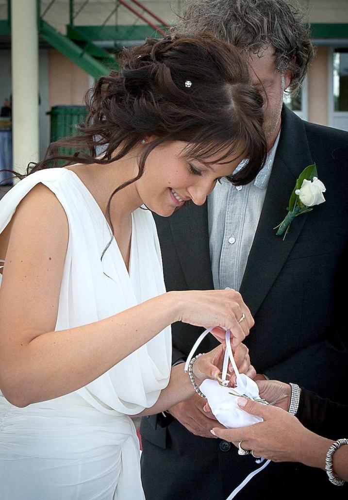 Walter Tamás & Dia horgászat témájú esküvője