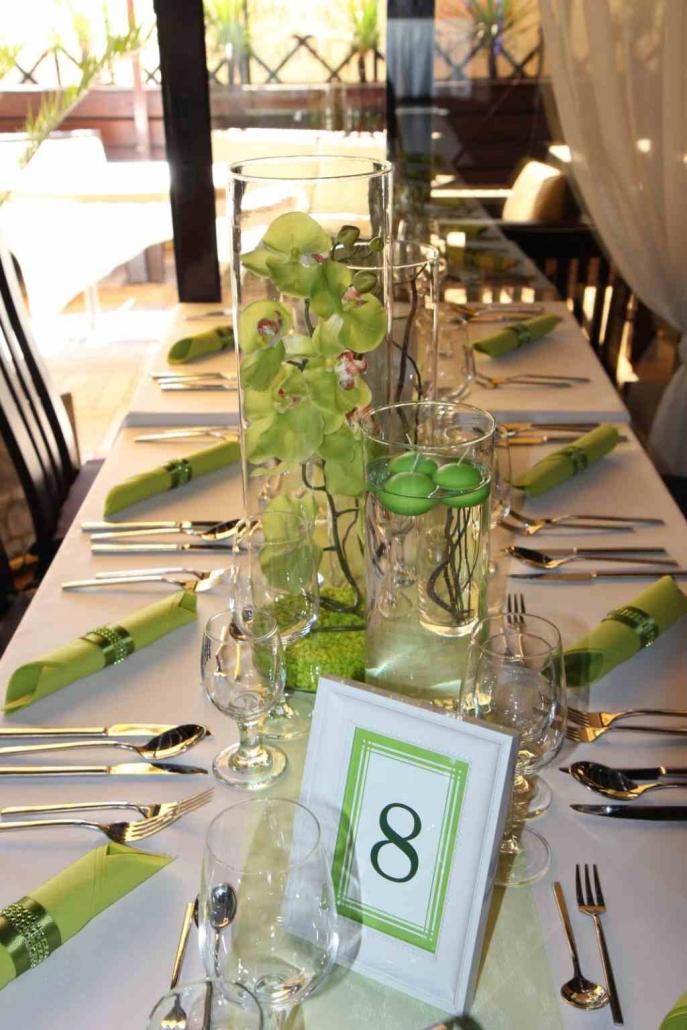 Zöld-fehér esküvő – Anett & Balázs