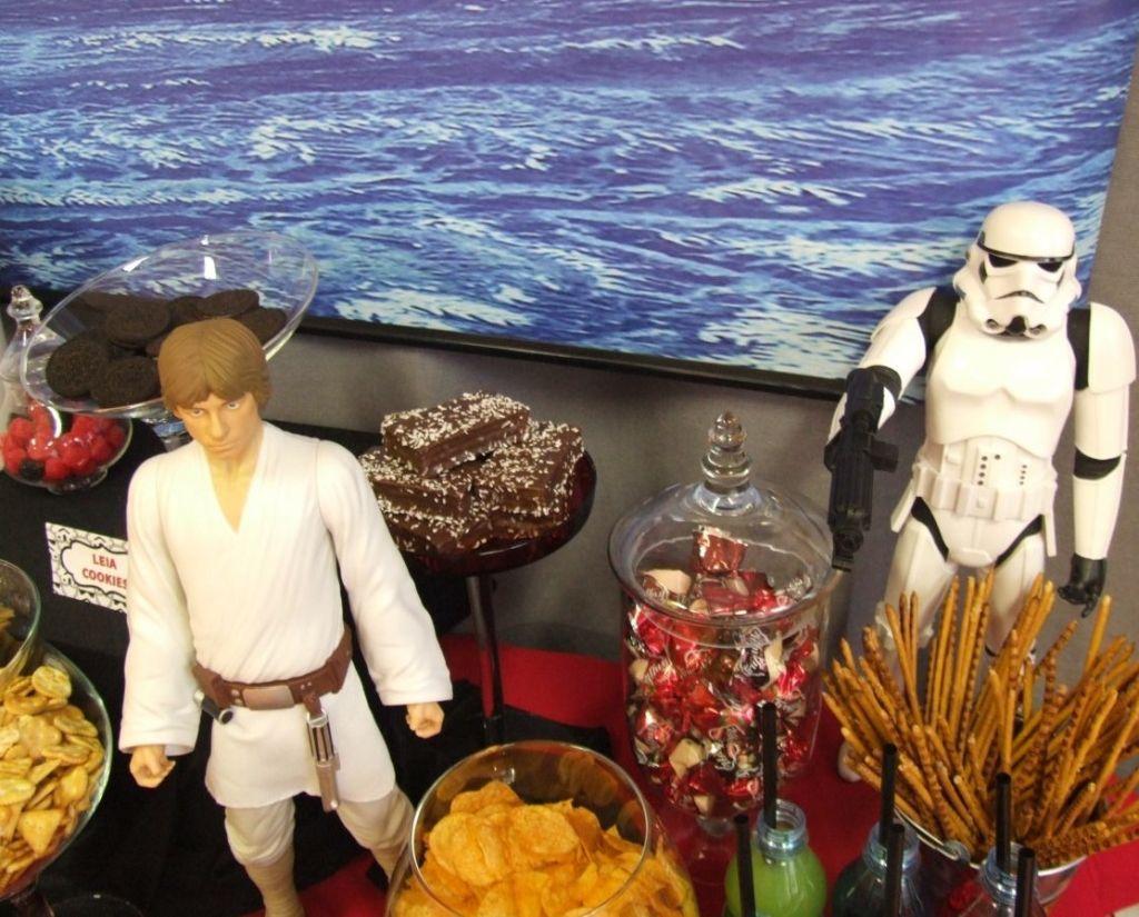 Star Wars szülinap Danielnek